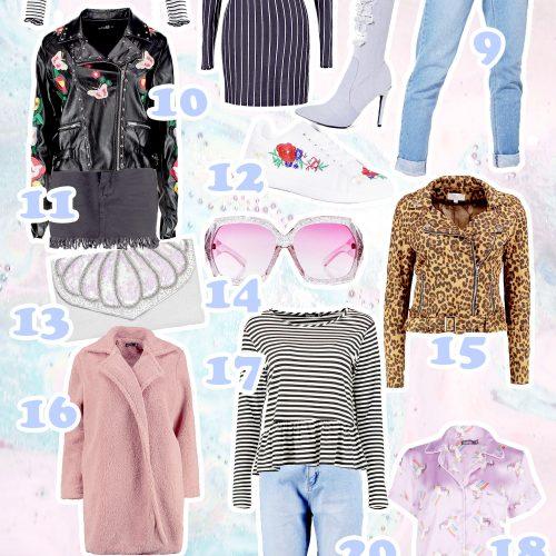 new in boohoo, blogger wishlist, uk fashion blogger,