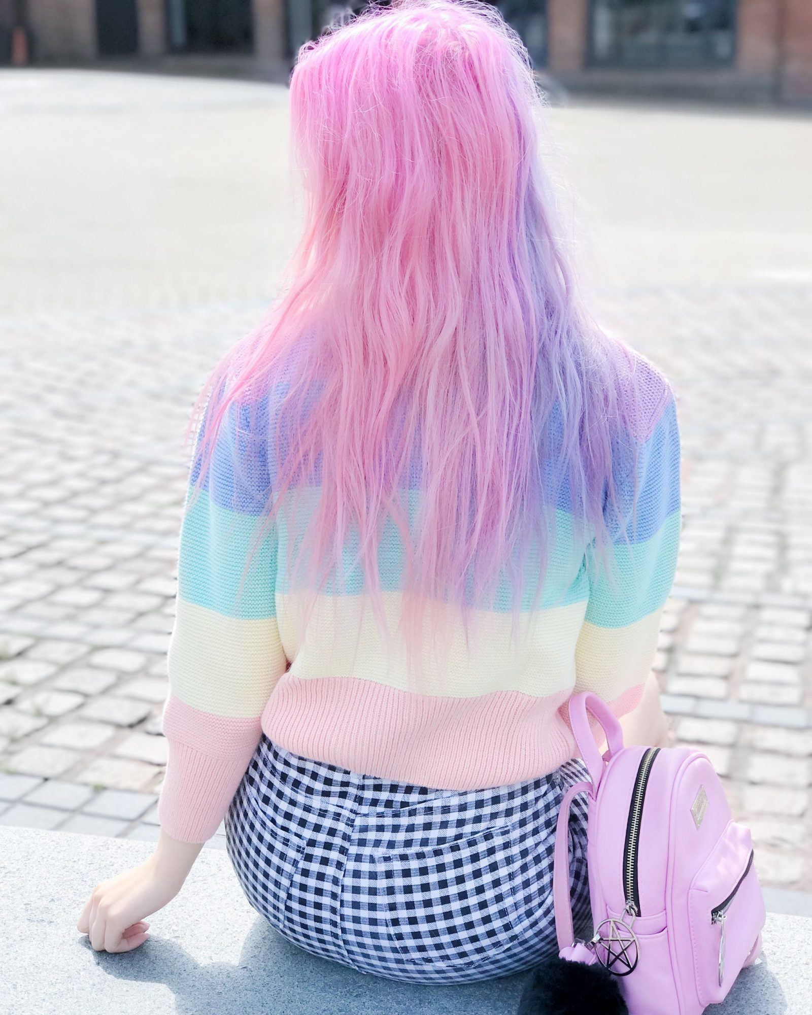PASTEL RAINBOW JUMPER